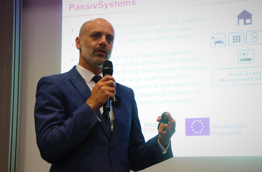 Matthew Osborn, Solutions Manager, represented Passiv Systems at JEC2019. Passiv have developed a range of home energy services aimed at making energy usage more efficient and affordable for millions of households.