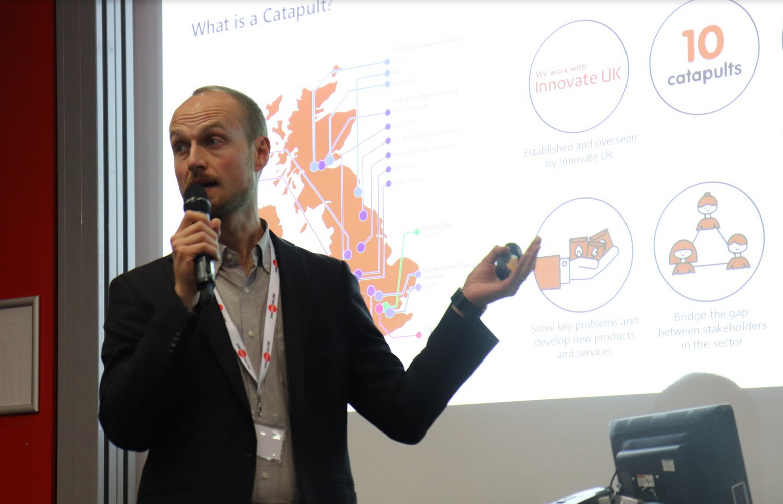Andrew Stokes, Business Development Manager at Energy Systems Catapult, covering the steps his company is taking to further partnerships for innovation in the UK energy sector.