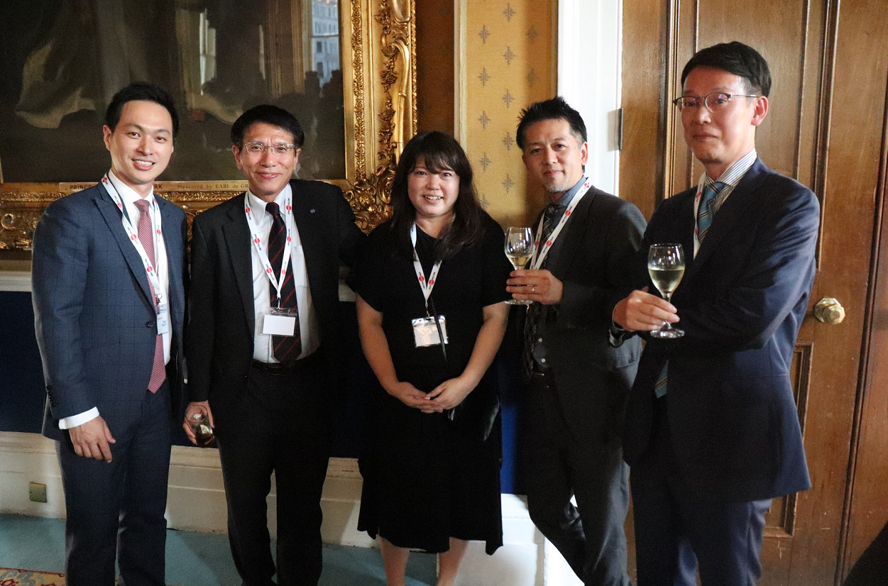 Sponsors and guests seemed to enjoy the reception at 116 Pall Mall!
