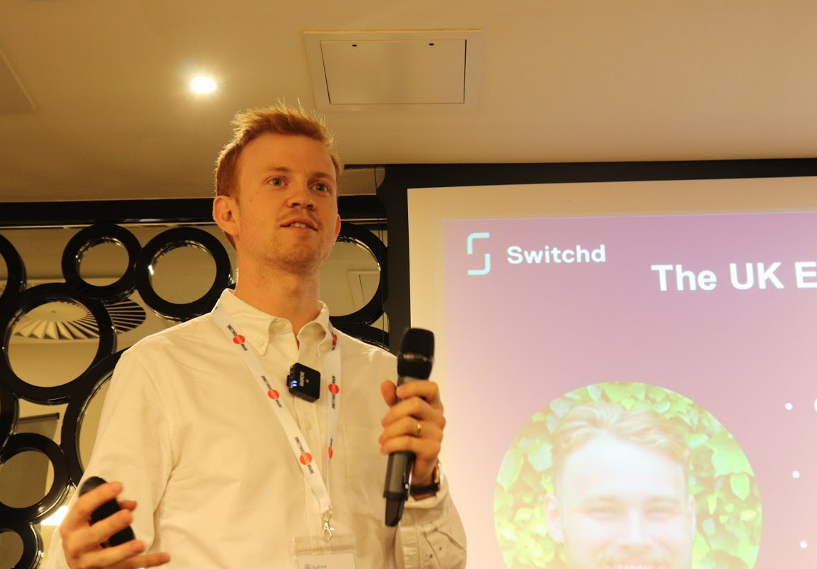 Thomas Rogers, Director of Switchd joined us at JEC 2019. With Switchd, electricity and gas customers can automatically switch to the best energy deal.